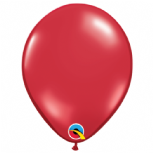 "Ruby Red 5 inch Balloons - Qualatex 5"" Balloons 100pcs"